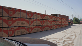 Packing plywood factory